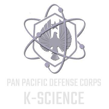 PACIFIC RIM K-SCIENCE TEE by AmyMor