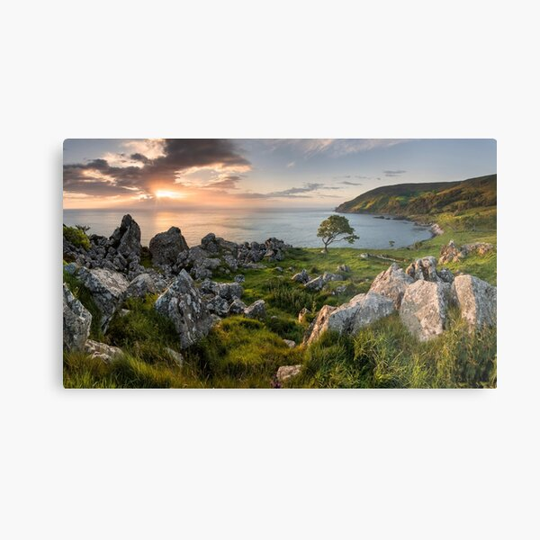 Sunrise at Murlough Bay Metal Print