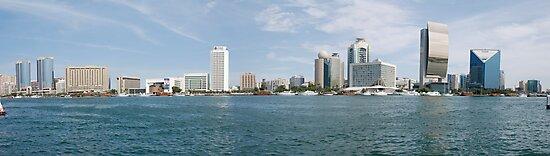 Dubai Creek,  United Arab Emirates by AravindTeki