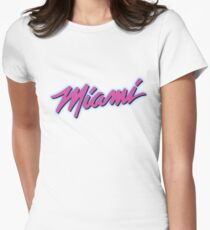 Miami Women's Fitted T-Shirt