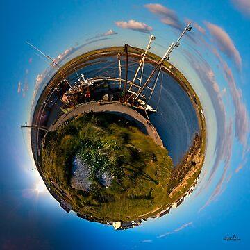 Fishing Boat, Killeany Pier, Inishmore, Aran Islands by VeryIreland