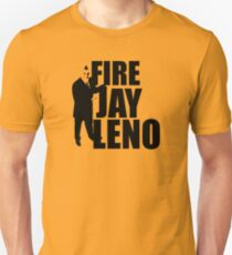 Fire Jay Leno Unisex T-Shirt