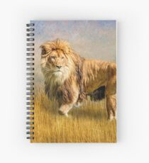 King of The Serengeti Spiral Notebook