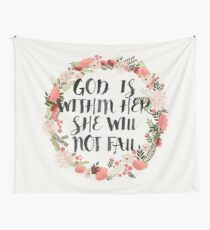 Christian Quote Tapestry