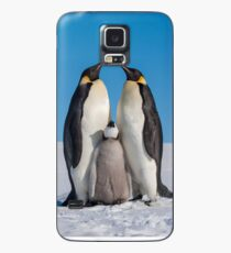 Emperor Penguins and Chick - Snow Hill Island Case/Skin for Samsung Galaxy