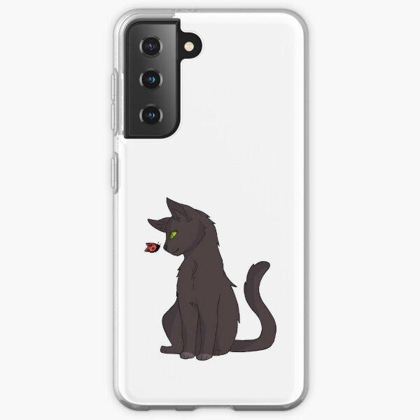 Cat and Ladybug Pattern Samsung Galaxy Soft Case