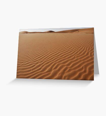 Desert Greeting Card