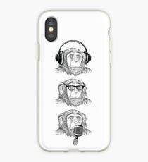 Hear Evil, See Evil, Speak Evil iPhone Case