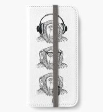 Hear Evil, See Evil, Speak Evil iPhone Wallet/Case/Skin
