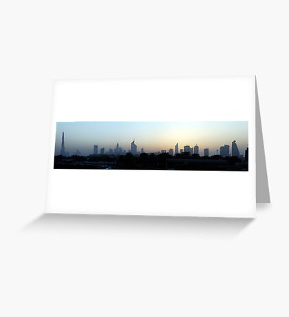 Dubai,  United Arab Emirates Greeting Card
