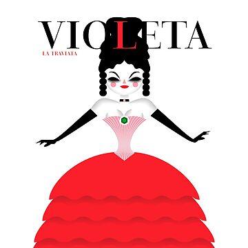 Violet by marcorecuero