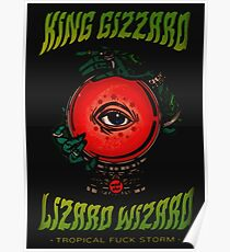 King Gizzard Poster