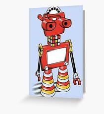 ViewBot 3000 Greeting Card