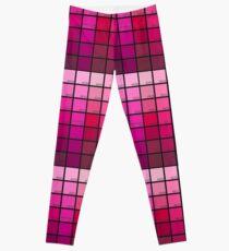Shades of Pink Pantone Leggings