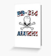 e1633d858d DD-214 USA Flag Shirt Gift For US Military Veteran T-shirt Greeting Card