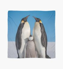 Emperor Penguins and Chick - Snow Hill Island Scarf
