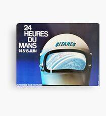Le Mans 1975, vintage poster, Le Mans t-shirt, Le mans poster Metal Print