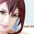 Look Into My Eyes Portrait Series 01 by Tim Miller