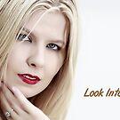 Look Into My Eyes Portrait Series 05 by Tim Miller