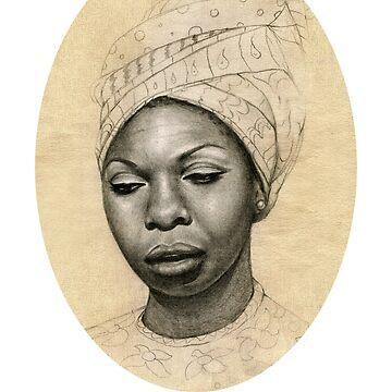 Queen Nina Simone  by markuskunschak