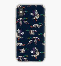 Male Mallard ducks iPhone Case