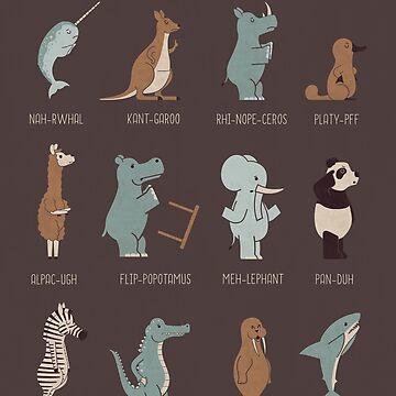 Spirit Animals by theodorezirinis