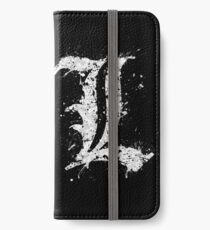 Death Note - L  iPhone Wallet/Case/Skin