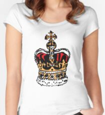 London crown Women's Fitted Scoop T-Shirt