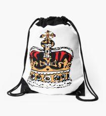 London crown Drawstring Bag