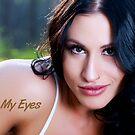 Look Into My Eyes Portrait Series 16 by Tim Miller