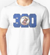 ALWAYS REPPIN' THE 320 Unisex T-Shirt