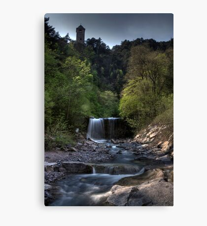 all along the watchtower Canvas Print