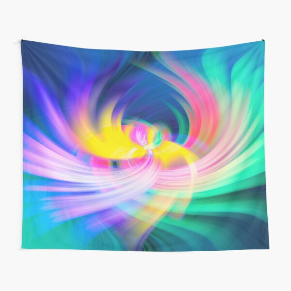 Colour Cocaine Phoenix Wings Twirl Tapestry