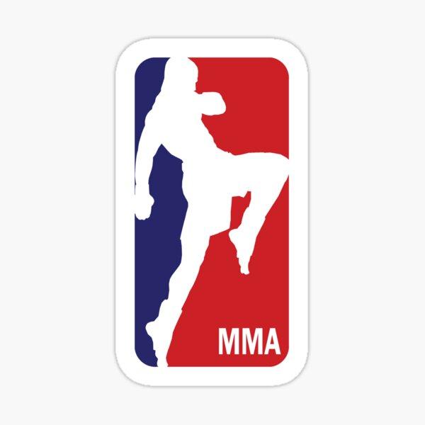 National MMA Sticker