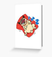 MOOTOO ZZZ Greeting Card