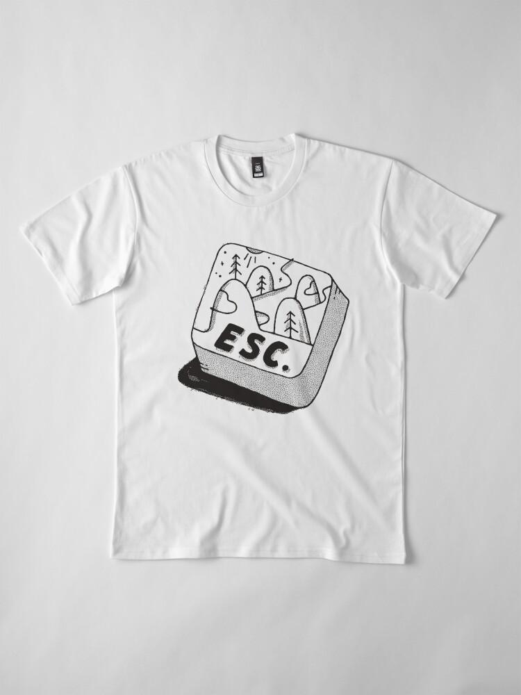 Alternate view of Escape Premium T-Shirt