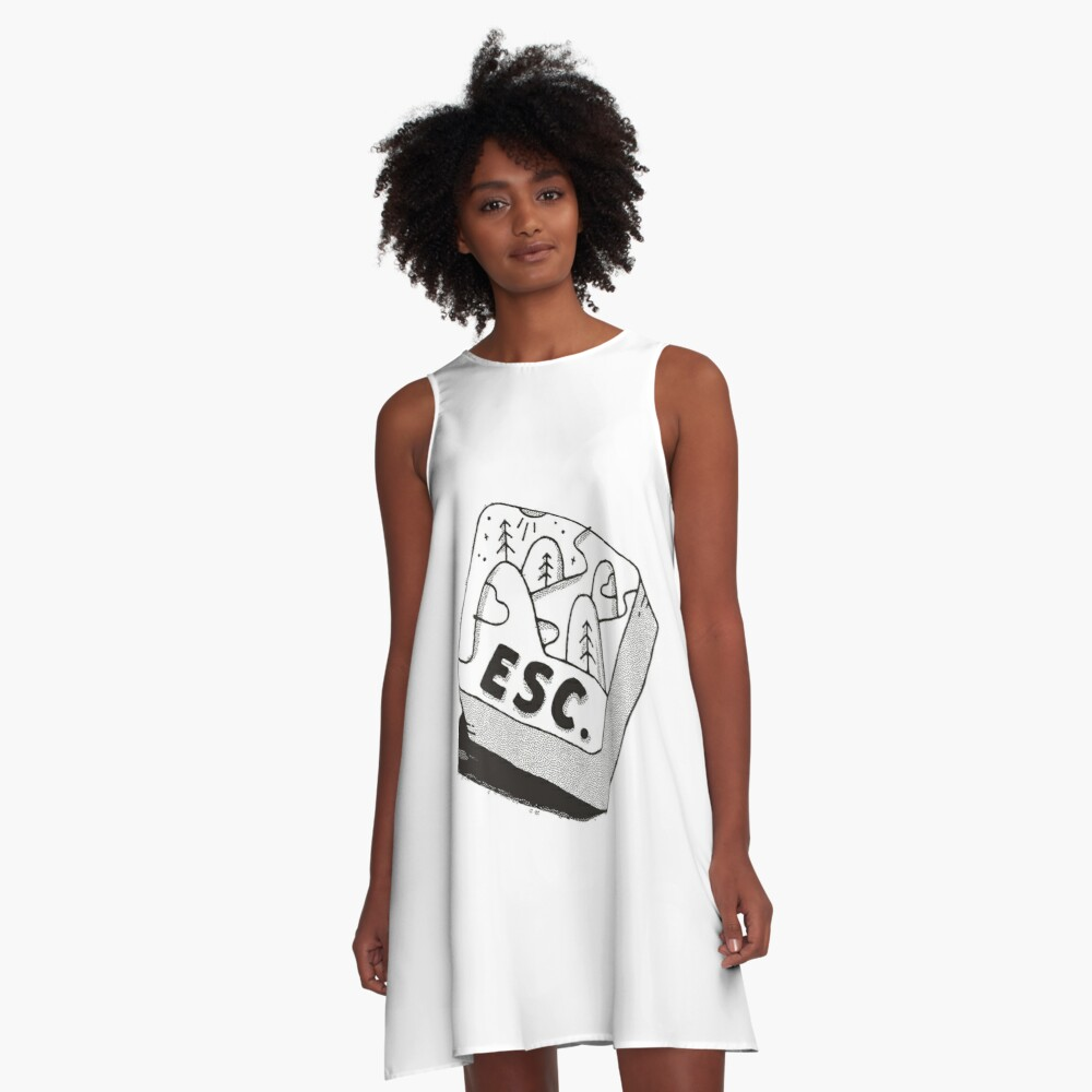 Escape A-Line Dress
