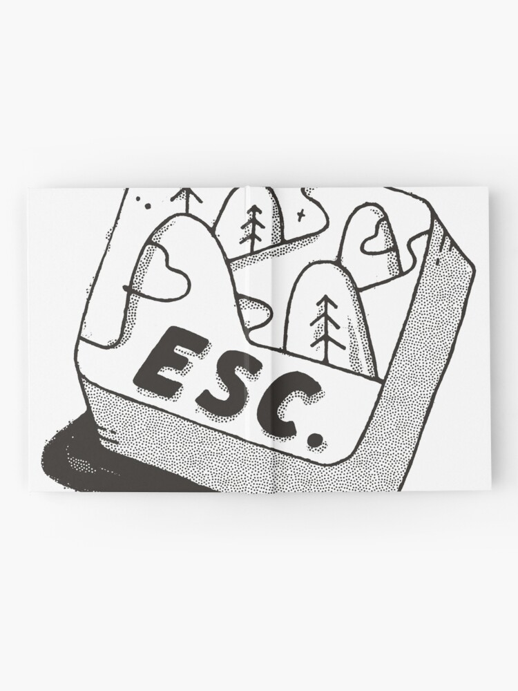 Alternate view of Escape Hardcover Journal