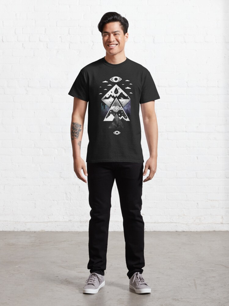 Alternate view of Lost and Profound Classic T-Shirt