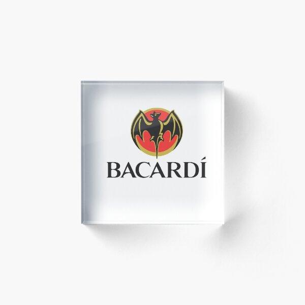 Bacardi Logo  Acrylic Block