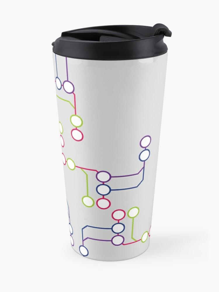 Alternate view of Subway#01 Travel Mug