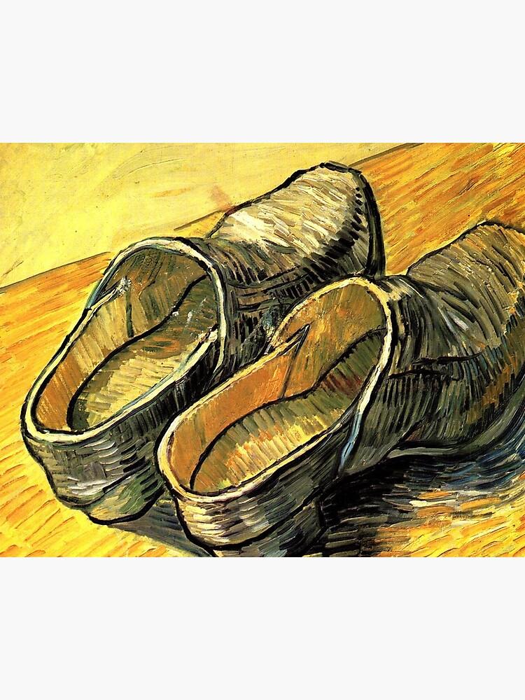 Photo Van Hrdtscxq Shoes Old Célèbres Impression Tableaux Gogh « TiPukXwOZ