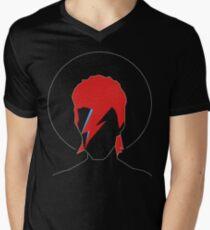 David Bowie Tribute Men's V-Neck T-Shirt