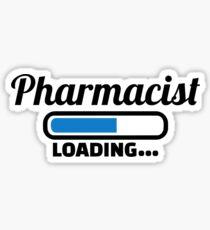 Pharmacist loading Sticker