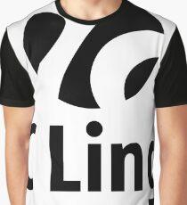 7C Lingo - Black Logo Graphic T-Shirt