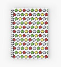 Junimo Pattern Spiral Notebook