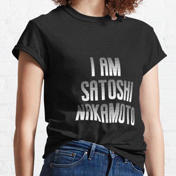 I AM SATOSHI NAKAMOTO - PHANTOM WHITE Classic T-Shirt