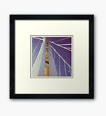 LIFE'S LITTLE GEMS - Color Bay Bridge Framed Print