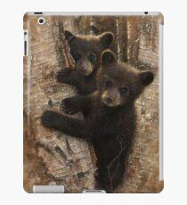 Black Bear Cubs - Curious Cubs iPad Case/Skin