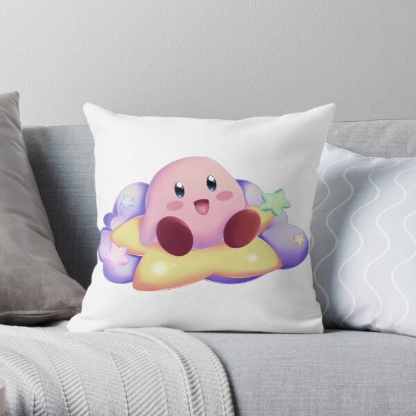 Kirby Throw Pillow